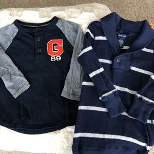 Boy's Ralph Lauren and Gap LS Tees